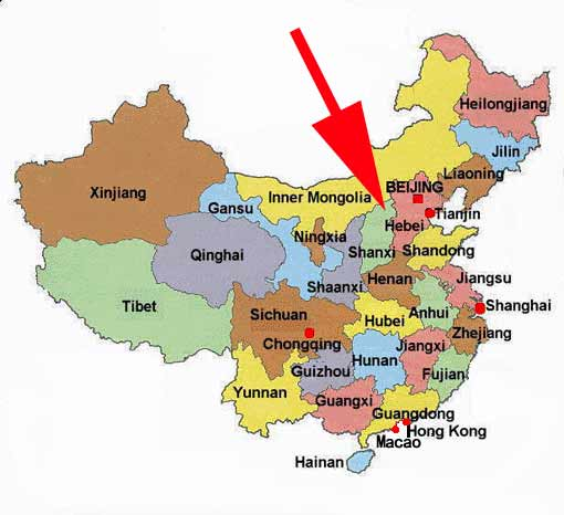 Maps and here is the area around beijing including hebei and shandong provinces shandong in the unnamed province to the southeast of hebei gumiabroncs Image collections